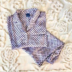 Lavender & Black Apt. 9 Silky Pajamas Large L